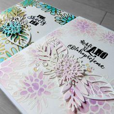 INSPIRACE... Svatební gratulace s MISTI   Pretty Papers - přáníčka, scrapbook, tvoření z papíru...