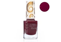 Our new 7 Free Nail Polish is long lasting and void of many chemicals that one would find in traditional nail polish. Amazing vibrant colors that go on smooth and stay put. Plus we have added a custom wide 100% vegan brush for easier application.