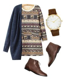 """""""HAPPY HIPSTER //"""" by bubblywisdom ❤ liked on Polyvore featuring moda, Braun e Larsson & Jennings"""