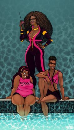 """""""The Peixes's are the smallest of the Humanized families, but also the richest and most awesome. Along with owning half the town, Condy runs the preferred summer hangout spot """"Glub Glub Waterpark"""" and makes her daughters Meenah and Feferi work there during the summer (along with Cronus and Eridan, Feferi convinces Eridan to work with her every year even though he hates it, Cronus just likes scamming on cute people in ..."""" click the link for the rest."""