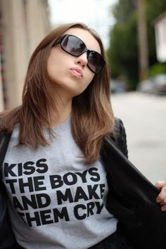Kiss The Boys and Make Them Cry