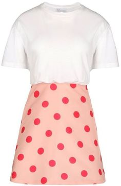 Pin for Later: You'll Want to Act Fast to Grab These Last-Minute Summer Sale Bargains RED Valentino Jersey and Polka Dot Faille Dress RED Valentino Jersey and Polka Dot Faille Dress (£173, originally £345)