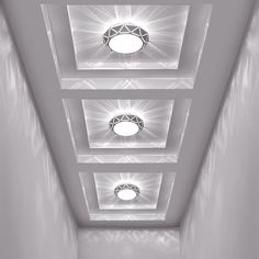 led ceiling light recessed lighting flush mount lamp pc corridor bedroom - The world's most private search engine Drawing Room Ceiling Design, Gypsum Ceiling Design, House Ceiling Design, Ceiling Design Living Room, Bedroom False Ceiling Design, Ceiling Light Design, Home Room Design, Gold Bedroom Decor, Living Room Tv Unit Designs