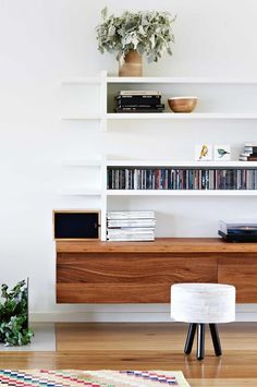 Small space solutions to make your home feel bigger, from insideout.com.au. Styling by Indianna Foord. Photography by Mark Roper.
