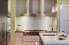 interiores de casas modernas y cocinas