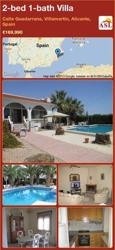 2-bed 1-bath Villa in Calle Guadarrana, Villamartin, Alicante, Spain ►€169,990 #PropertyForSaleInSpain