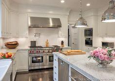 Lovely Scandia Kitchens; Warren Patterson Photography · Individuelle Küchen MikrowelleKüchen DesignBoston