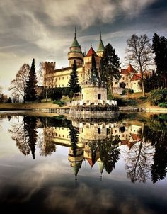 Bojnice Castle, Slovakia ~To the Castle! Oh The Places You'll Go, Places To Travel, Places To Visit, Beautiful Castles, Beautiful Places, Bratislava Slovakia, Heart Of Europe, Travel Inspiration, Travel Photography