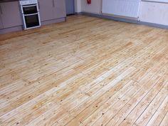 Sanding wood floor  - After Oling - Cambridge