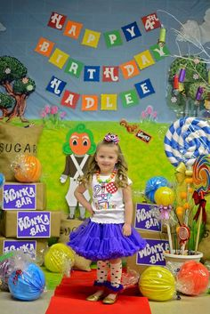Candy - Willy Wonka Birthday Party Ideas | Photo 45 of 53 | Catch My Party