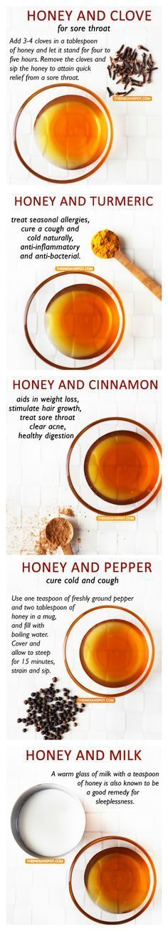 10 Food Combinations with Honey that work wonders for health and beauty #NaturalHomeRemedies