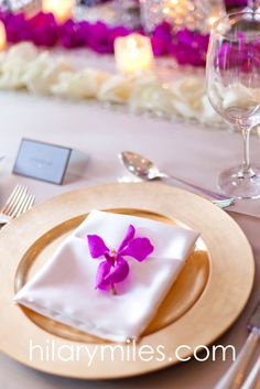 Magenta Mokara Orchid blossom napkin detail Magenta Flowers, Napkin, Orchids, Table Decorations, Detail, Home Decor, Homemade Home Decor, Lace Table, Lilies