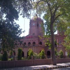 The beautiful façade of GPO Lahore