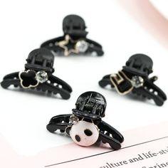 hair clips for women crystal: Cheap Price New South Korea cartoon rabbit panda g... Cartoon Rabbit, Claw Clip, Panda, New South, Headgear, South Korea, Claws, Hair Pins, Catch