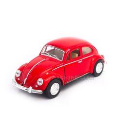Miniatura Fusca 1967 Vermelho - 1:32 - Machine Cult | Loja online especializada em camisetas, miniaturas, quadros, placas e decoração temática de carros, motos e bikes