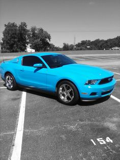 2012 Grabber Blue Mustang, Lexington, South Carolina