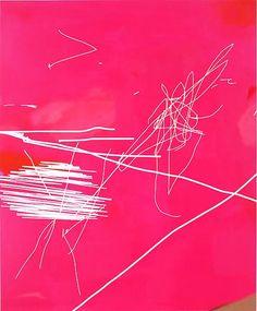 Jeff Elrod, TFT, 2012. Acrylic on canvas.