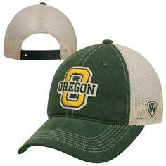18fa55e6d16 Top of the World Oregon Ducks Mesh Trucker Adjustable Hat - Green