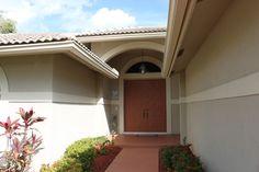 Home front door entrance
