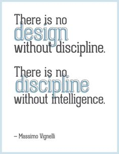 Discipline Is The Rule Thumb For Design Infinistaconcepts