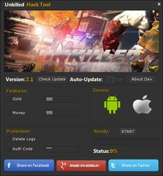 Unkilled Hack gold and money - Android and iOS working version. Download now for free.