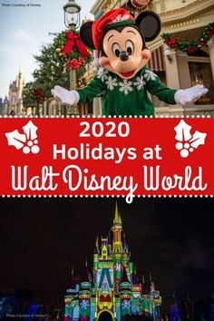 The Holidays are a magical time at Walt Disney World! Learn what changes are coming to Walt Disney World this year, and what magic will be returning. #disneyholidays #disneyworld #waltdisneyworld #disneytripplanning #disneytips