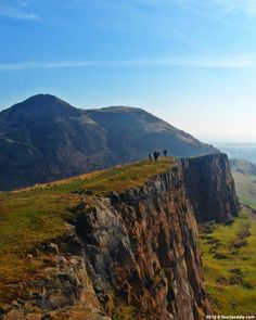 Arthur's Seat in Edinburgh, Scotland.