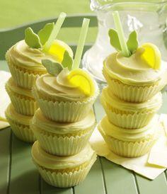 Lemon Cooler Cupcakes