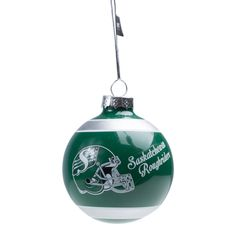 HOLIDAY GLASS ORNAMENT