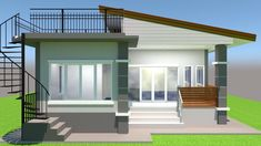 70 Ideas Farmhouse Style House Plans Small For 2019 Modern Bungalow House, Bungalow House Plans, Craftsman House Plans, Small House Plans, Farmhouse Plans, Farmhouse Style, Cabana, Modern Farmhouse Bedroom, Modern Bedrooms