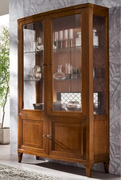 Classic Wardrobe, Park Homes, China Cabinet, Home Crafts, Kitchen Cabinets, Furniture, Design, Bedroom, Home Decor