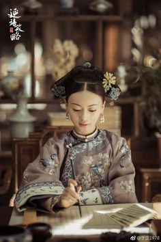Asian Style, Chinese Style, Princess Weiyoung, Chinese Embroidery, Chinese Movies, Ancient Beauty, Chinese Clothing, Oriental Fashion, Hanfu