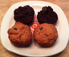 Chocolate Muffins and Happy Trails Muffins