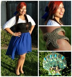 """The Little Mermaid Ariel """"Kiss the Girl"""" inspired outfit"""
