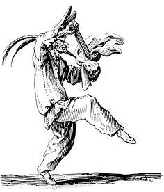 """Jacques Callot, """"Grotesque Satire"""""""