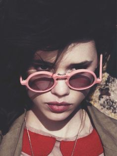 Pink #sunglasses