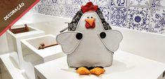 A Elgin te ensina como fazer um puxa-saco em formato de galinha para decoração da casa.