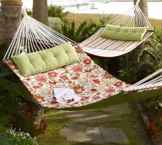 A hammock or an egg chair would be greatttttt!!!