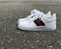 save off 538ae 49ad4 Nike Air Force 1 Gucci custom by fawl Air Force 1, Nike Air Force Ones