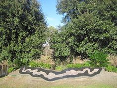 The Bayou Teche  The Bayou Teche got its name from an old Chitimacha Indian legend. According to that tale, there once was a very large snake who roamed the area and terrified many people. He was finally slayed and as his body collapsed into the earth, it carved out the bayou into the shape of a snake.