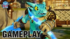 Skylanders Trap Team SNAP SHOT Gameplay Preview #skylanders #toys #collecting #e3expo