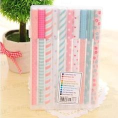 10 Pcs Kawaii Cartoon Colorful Gel Pen Set Cute Korean Stationery Pens For Writting Office School Supplies 10 kinds Color Gift Stationary Supplies, Cute Stationary, Stationary Design, Stationary Store, Korean Stationery, Stationery Pens, Kawaii Stationery, Free School Supplies, Office And School Supplies