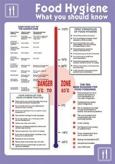 Stewart Superior Health and Safety Poster Laminated Food Hygiene H420xW595mm Ref HS025