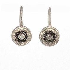 $26.90 Silver earrings with zircons