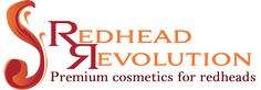 Redhead Revolution offers premium makeup for redheads. Organic cosmetics include lipgloss, lip tint, mascara, eye shadow, eyebrow tint, lotion, mineral tint.