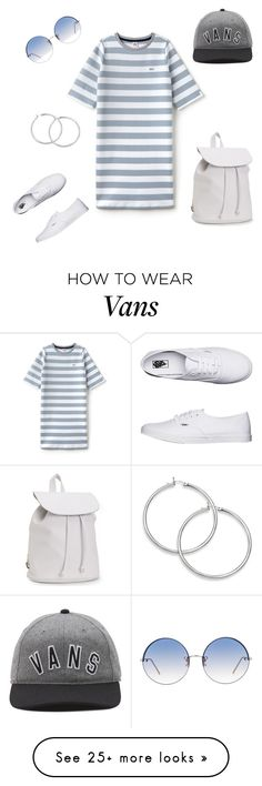 """Untitled #256"" by cynn4040 on Polyvore featuring Lacoste L!VE, Vans, Aéropostale and Linda Farrow"