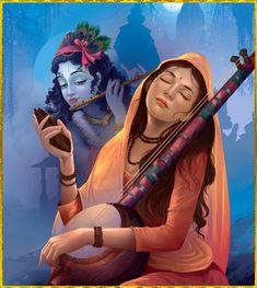 Shree Krishna HD Wallpapers on Shubh Janmashtami Krishna Leela, Krishna Love, Krishna Radha, Lord Krishna, Krishna Painting, Hindu Deities, Hindu Art, Indian Paintings, Gods And Goddesses