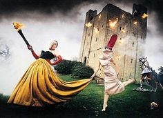 Burning Down the House, Essex, England, Alexander McQueen and Isabella Blow by David LaChapelle, 1996.