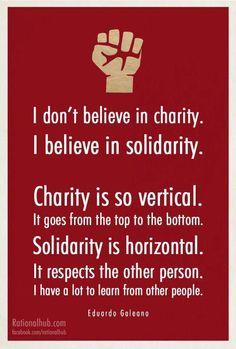 Eduardo Galeano - Solidarity
