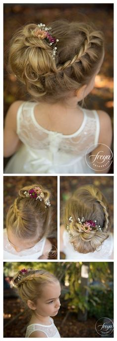 uncategorized communion hairstyles for daily hairstyle best daaeaeefcedbac … - Wedding Hairstyles Flower Girl Hairstyles, Little Girl Hairstyles, Flower Girl Updo, Flower Girls, Teenage Hairstyles Girls, Little Girl Updo, Braid Flower, Toddler Hairstyles, Daily Hairstyles